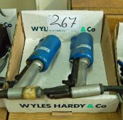 Two AVDEL 734 Pneumatic Riveting Guns (As Photographed~)