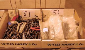 Two Boxes of Straight Shank HSS Drill Bits (As Photographed)
