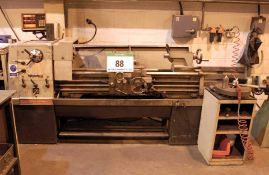 A TRIUMPH COLCHESTER Triumph 2000 Centre Lathe, Serial No. 6/0049/27024 Approx. 1300mm between