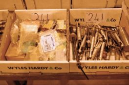 Two Boxes of Helicoil Type Insertion Tools and Fittings (As Photographed)