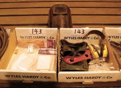 Two Boxes of Personal Protective Equipment and Consumables (As Photographed)