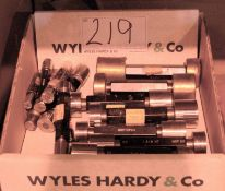 A Box of Plug Gauges (As Photographed)