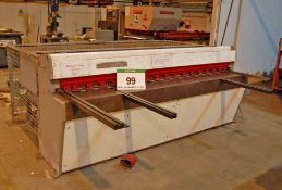 A EDWARDS Truecut 3.25/2500 Sheet Metal Cutting Guillotine, Serial No. 77C/465S7, 2535mm x 3.25mm