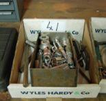 Lot 41 - A Box of Miscellaneous Sockets Extension and Allen Keys (As Photographed)