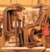 A Box of Clamps (As Photographed)