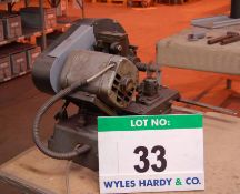ERMA, SEC OP MIL Bench top Mill Serial No. 1505 240V, (N.B. No Guards)