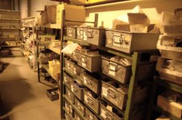 The Entire Loose Contents and Racking on the Mezzanine Stores (As Photographed)