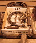 Three Pneumatic Finishing Tools (As Photographed)
