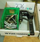 A STANLEY Long Mag Pneumatic Staple Gun and a Box of Staples