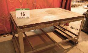A 1800mm x 1160mm x 900mm Steel Workbench