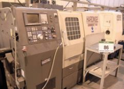 A HARDINGE Conquest T42 CNC Turning Centre, Serial No. SGA-1230B, fitted 12-Position Tool Turret,