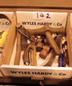 A Box of Various Hand Tools (As Photographed)