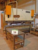 A SAFAN CNCS 110-Tonne 110-3100 Down-Stroking Hydraulic Press Brake, Serial No. K3013 (1992) with