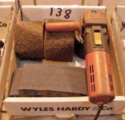 A FLEX 1200Watt 240 Polishing Machine and Associated Consumables (As Photographed)