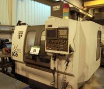 A YEONG CHIN YCM Supermax V106A CNC Vertical Machining Centre, Manufacturing No. 207025 (2002), 20-