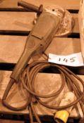 A METABO 9 inch Angle Grinder (110V)