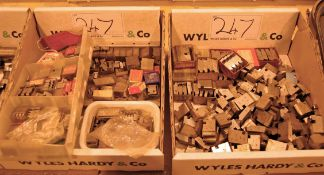 Two Boxes of Threading Dies (Used with Die Boxes)