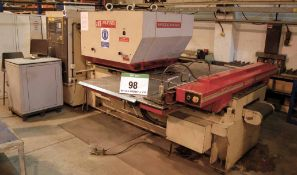 A MURATA WIEDERMANN Centrum 2000Q P43647 Turret Punch Press, Serial No. EC2116, 18-Position Tool