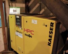 An HPC SIGMA Ask 27T Packaged Rotary Screw Air Compressor with SIGMA Basic Control (A Method