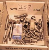A Box of Hole Cutting Heads (As Photographed)