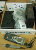 A Quantity of Hand Held Electrical Test Meters (As Photographed)