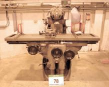 A HURON KU6 Ram Head Universal Milling Machine, Serial No. 8049 (Nov. 1976), with 2000mm x 500mm T-