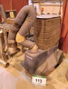 A NEDERMAN Filter Cart Mobile Fume Filtration Unit with Articulating Arm, Serial No. 12613245 (2004)