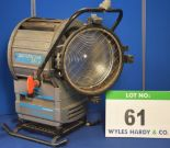Lot 61 - A QUARTZCOLOR SuperNova 25/12 2500/1200W Light with fitted Stirrup Mount (Note - No Bulb)