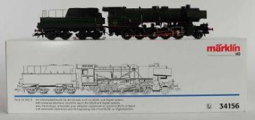 TENDERLOKOMOTIVE, Herst. Märklin/Göppingen, Spur H0, Serie 26 SNC B, Nr. 34156, Delta-/