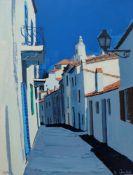 "QUILICI, Jean Claude (*1941 Marseille), Farblithographie, ""Ruelle dans Cadaques"", unten links num."