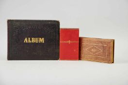 """Album amicorum- """"Denkmahl der Freundschaft für Jacob Plümacher."""" (Deckeltitel).Stammbuchkassette des"""