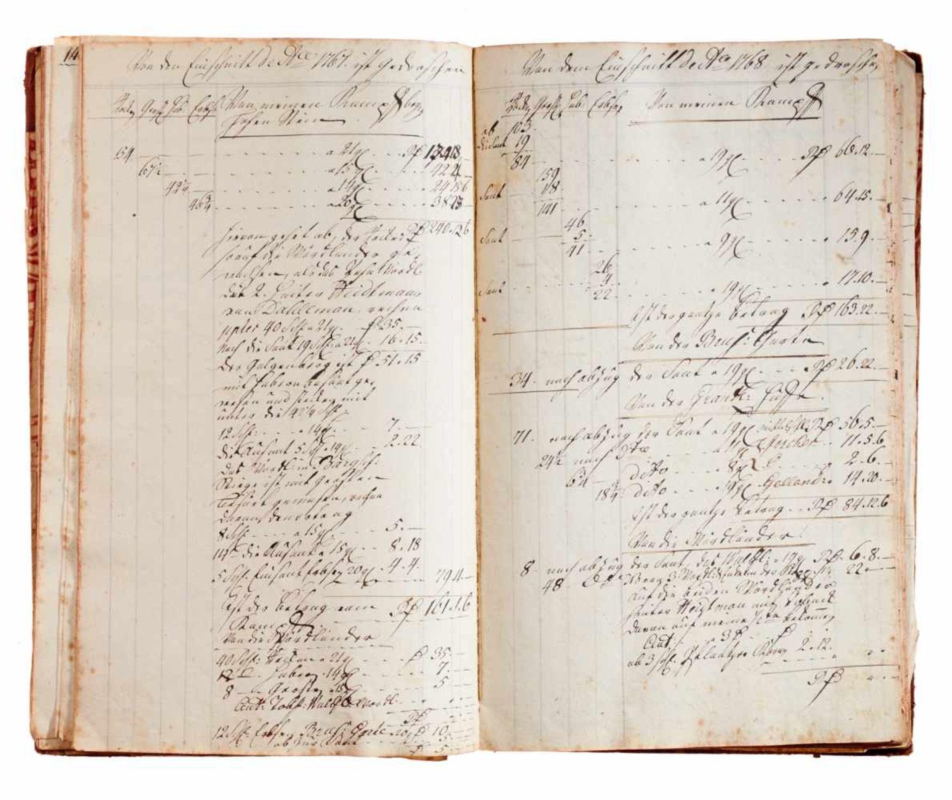 """Anklam- """"Notaten Buch über meine Garten, Acker, Wiesen mit übrigenliegenden Gründen."""" (Deckeltitel). - Bild 3 aus 3"""