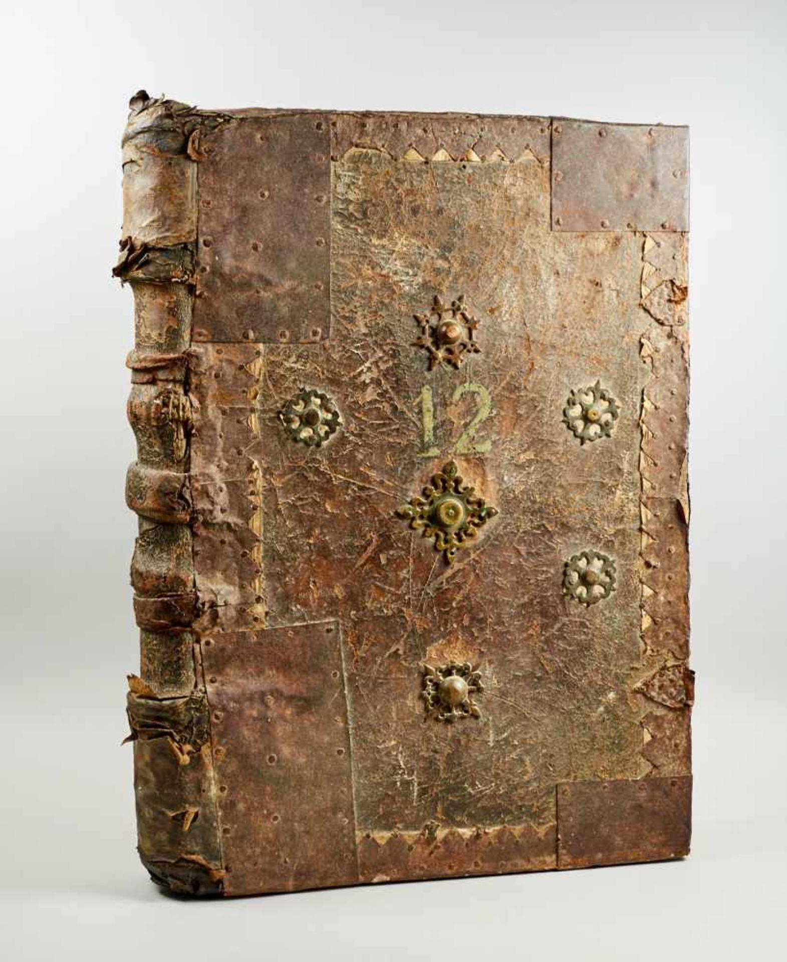 Antiphonar - Lateinische Handschrift auf Pergament. Nicht dat.Wohl Spanien, um 1600. Ca. 50 x 35 cm. - Bild 6 aus 7