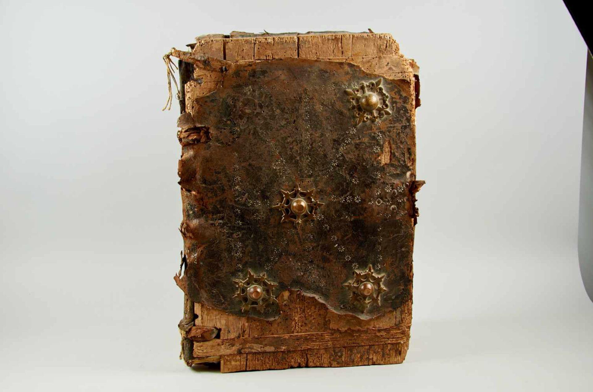 Antiphonar - Lateinische Handschrift auf Pergament. Nicht dat.Wohl Spanien, um 1600. Ca. 50 x 35 cm.