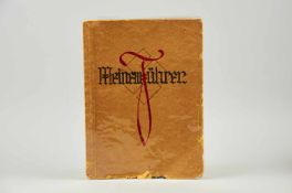 """""""Meinem Führer."""" Deutsche Handschrift auf Papier. Dat. Bremen1935. Fol. (33,8 x 24,9 cm). Mit 3"""