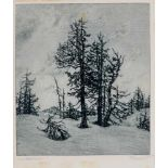 Konvolut - Ca. 125 Blätter, meist Radierungen des 20.Jhdts., tls. e. sign. Verschied. Künstler und