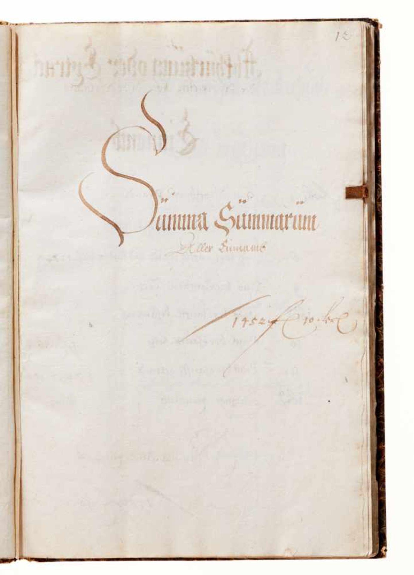 """Grasslfing- """"Hauß Rechnung"""". Deutsche Handschrift auf Papier.Dat. Graßlfing, 1. 5. 1640 - 30. 4. - Bild 4 aus 5"""