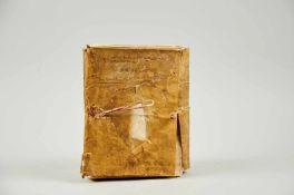 Gemona- Imbreviaturbuch des Notars Bartolomeo. Lateinische Handschrift auf Papier.Dat. Gemona (