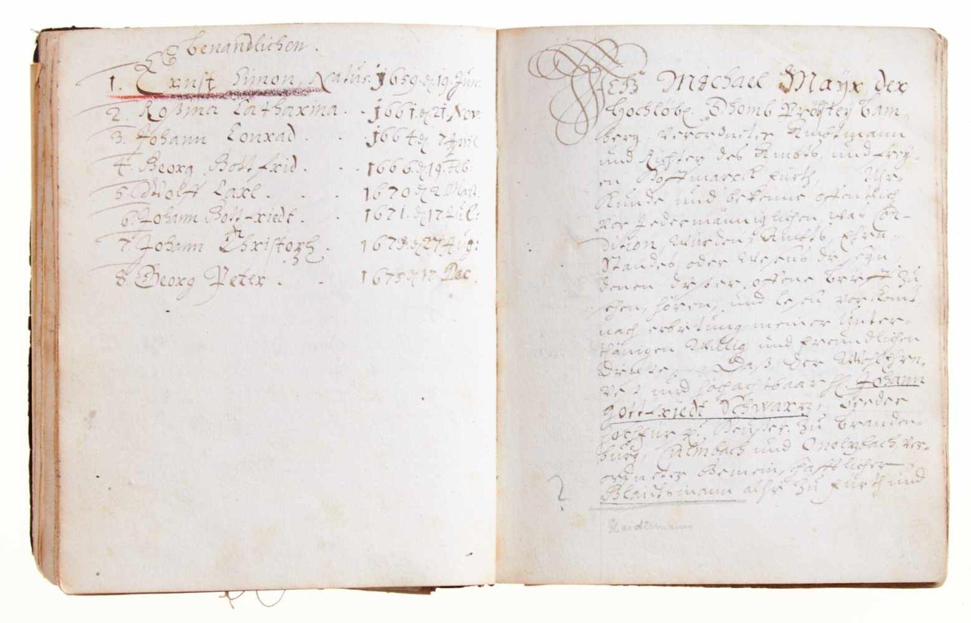 Schwar(t)z- Dokumentation zur Geschichte der Adelsfamilie Schwar(t)z.Deutsche Handschrift auf - Bild 3 aus 4