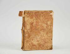 Kochbuch - Deutsche Handschrift auf Papier.Wohl Wien, um 1780-1850. 4°. 130 S. (ohne S. 21/22), 20