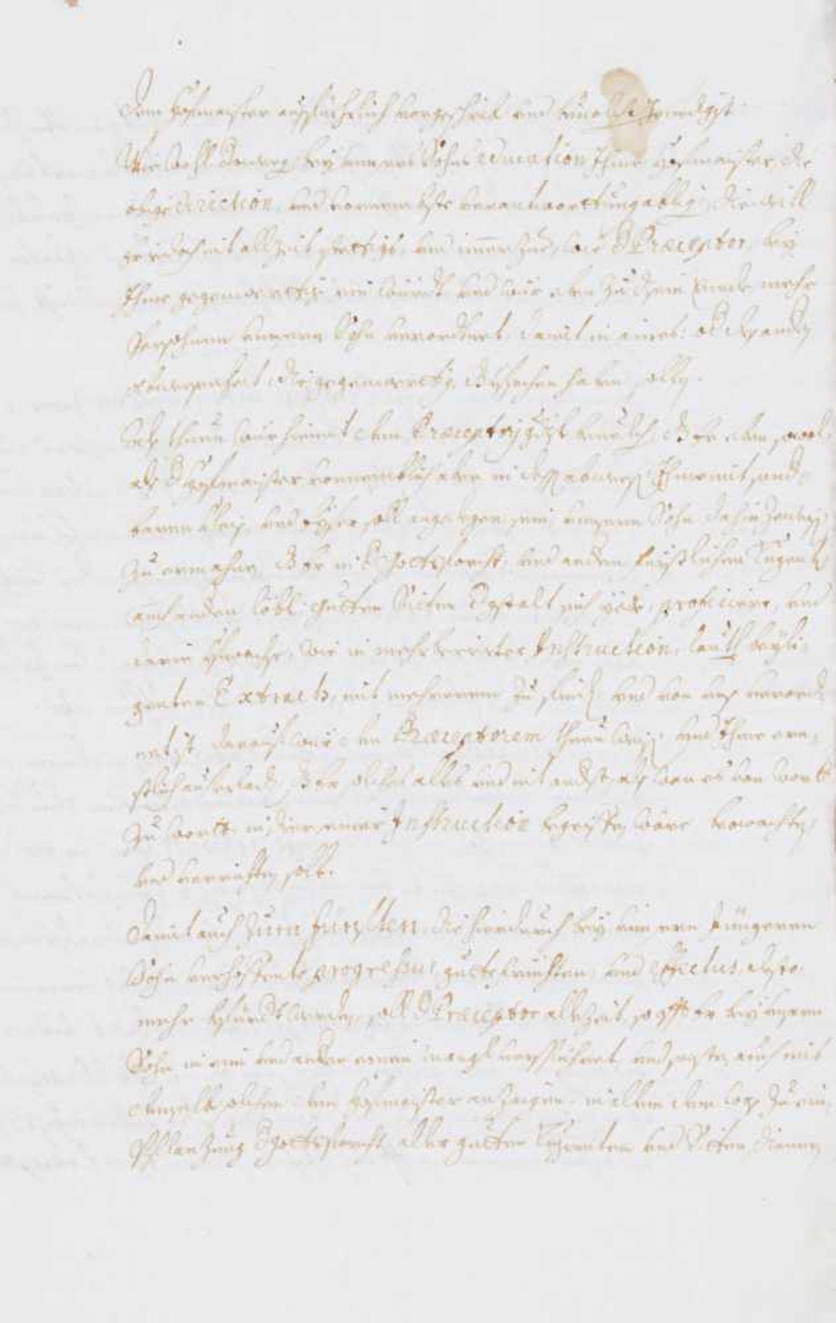 """Joseph Clemens von Bayern- """"Unser von Gottes Genaden Ferdinand Maria ... Genedigister Bevelch unnd - Bild 2 aus 2"""