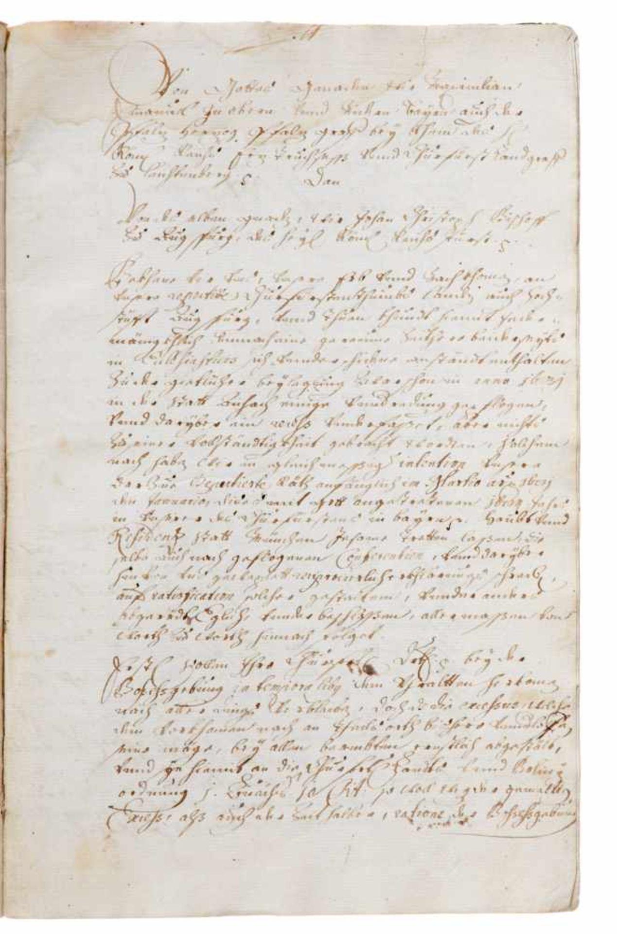 """Fürstenfeld- """"Narratio transactionis violento-liberae circa Restitutionem Monasteriorum in - Bild 3 aus 3"""