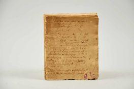 Pferde- Rossarzneibuch. Deutsche Handschrift auf Papier.Nicht dat. (wohl Deutschland, frühes 17.