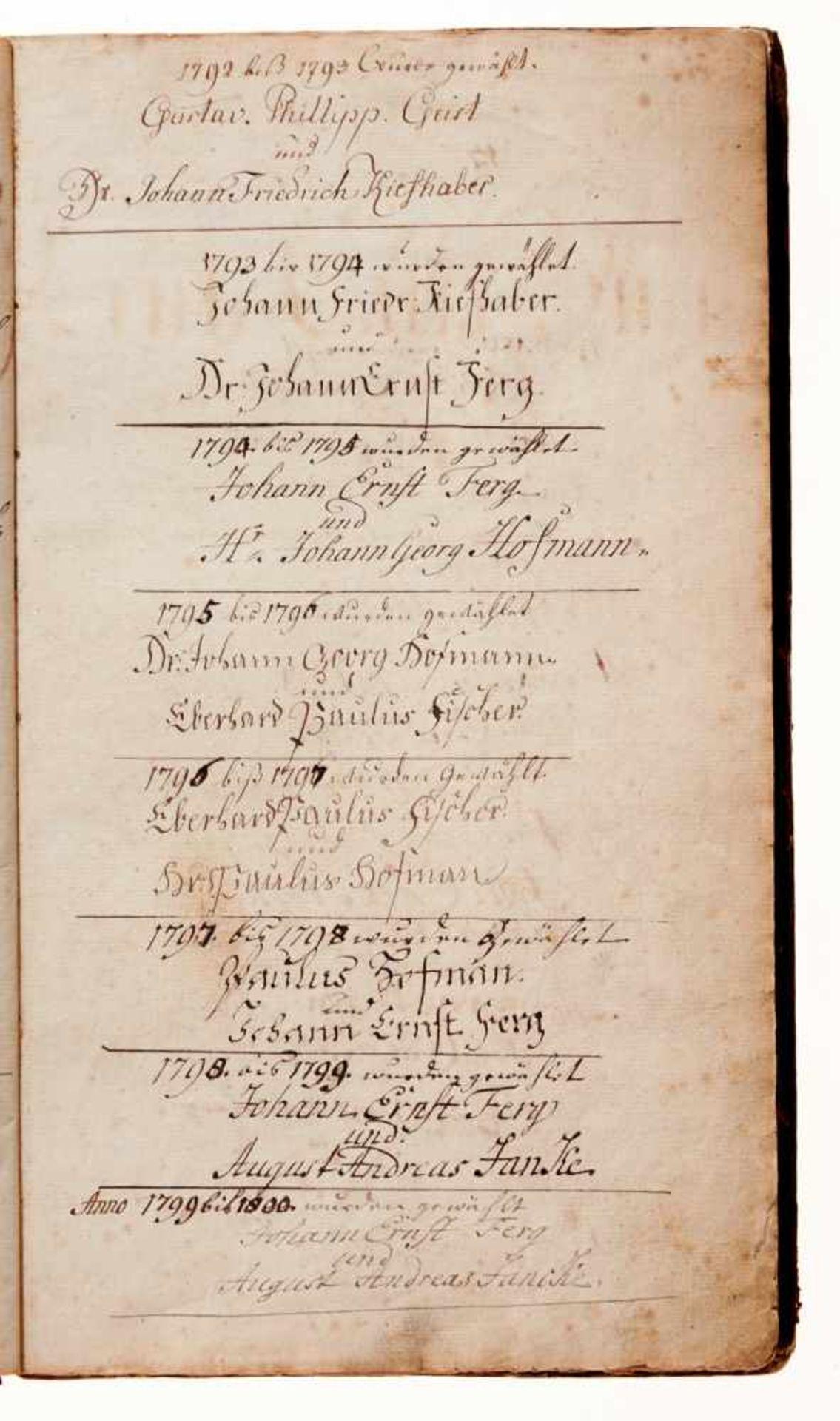 """Nürnberg- """"Leich-Cassa-Buch."""" Deutsche Handschrift auf Papier.Nürnberg, dat. 1784-1811, mit - Bild 3 aus 4"""