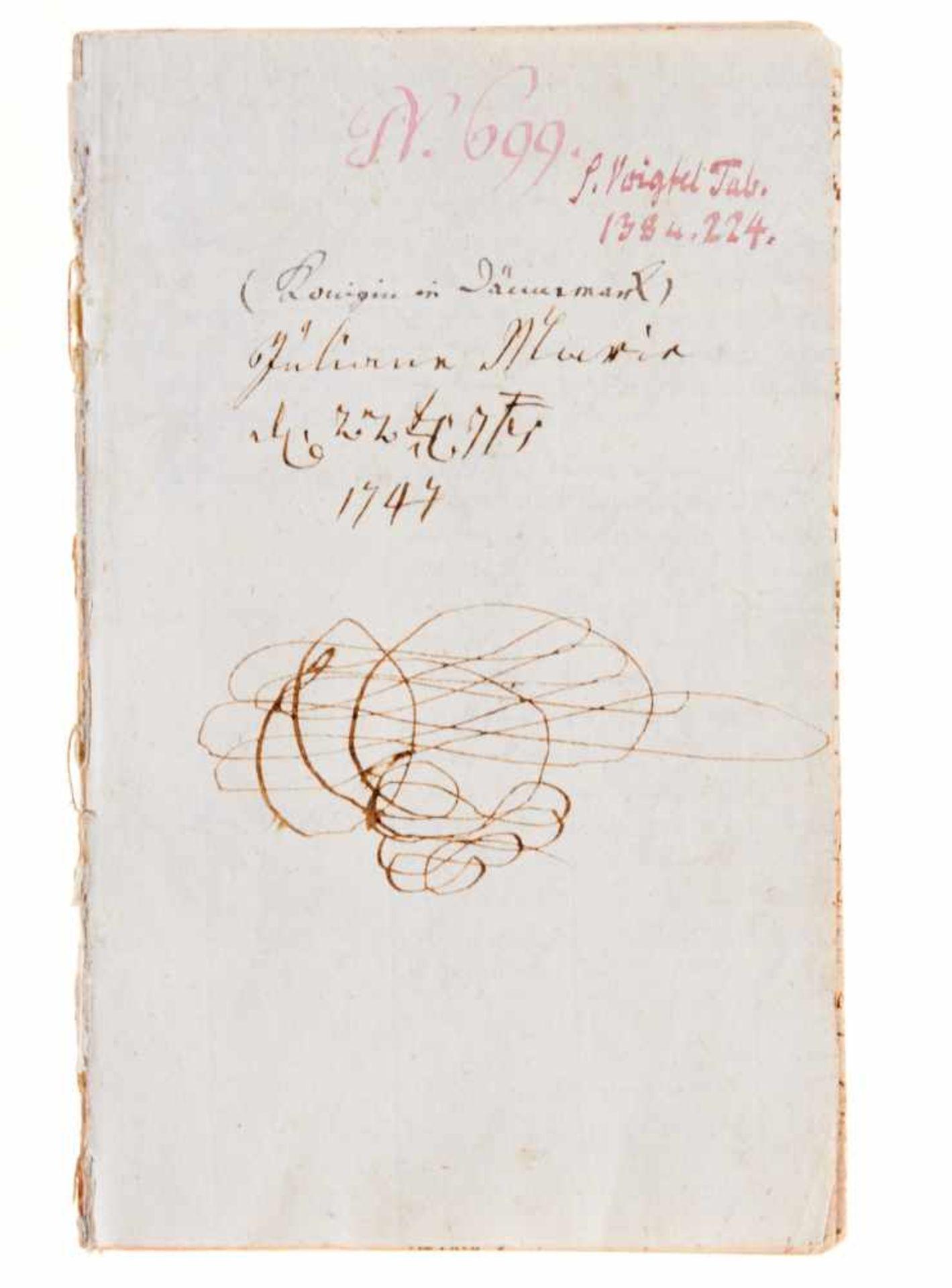 Religiöse Unterweisung- Manuskript aus dem theologischen Unterricht der JulianeMarie von