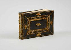 Album amicorum- Stammbuch eines Mitgliedes der Familie Esper aus Franken.Mit ca. 140 Einträgen,