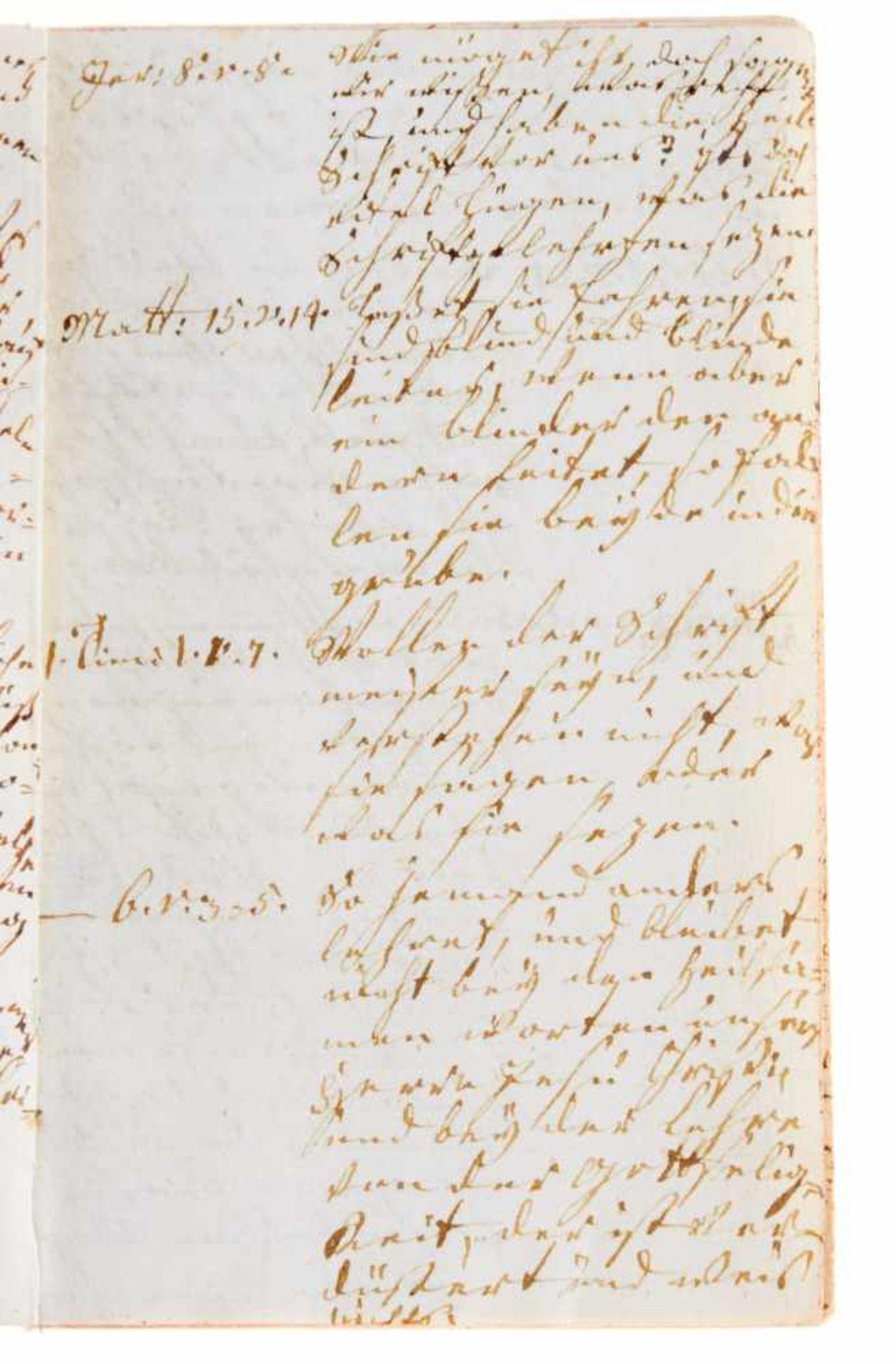 Religiöse Unterweisung- Manuskript aus dem theologischen Unterricht der JulianeMarie von - Bild 3 aus 3