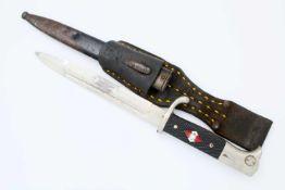 3. Reich - Extraseitengewehr Typ KS 1898 Eigentumsstück, aufpflanzbar, gekehlte, vernickelte
