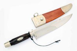 Großes Jagdmesser - Searles Baton Rouge LA Unbenutztes Sammlerstück, minimale und oberflächliche