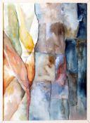 """""""Landschaft"""" - Eduard Bargheer (1901-1979) Aquarell auf Papier, unten rechts signiert und datiert """""""